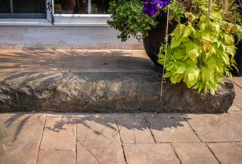 8 inch step liner insert form