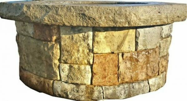 stack-stone-firepit-seatwall-liner-concrete-stamp
