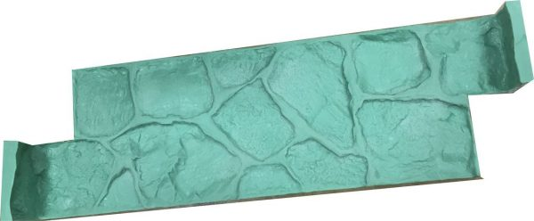 firepit-fire-pit-seatwall-form-liner-square-concrete-stamp-green