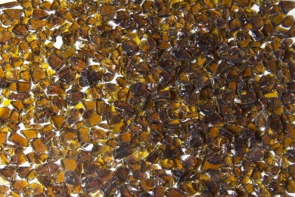 chocolate glass aggregate