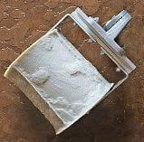 cobblestone concrete border roller
