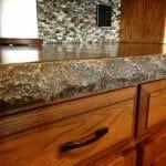 standard concrete countertop form