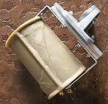 cut slate concrete roller