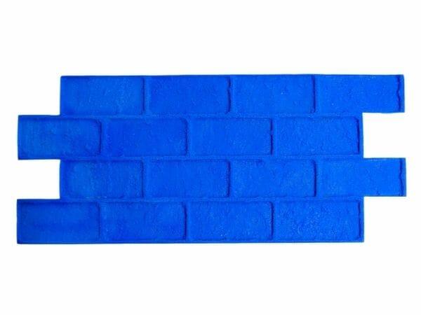worn-brick-running-bond-rigid-concrete-stamp-blue