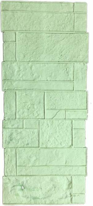 precast-column-form-liner-concrete-stamp-green-56-inch