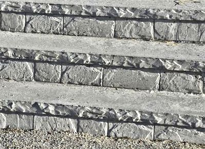 8 inch slate cantilever step inserts