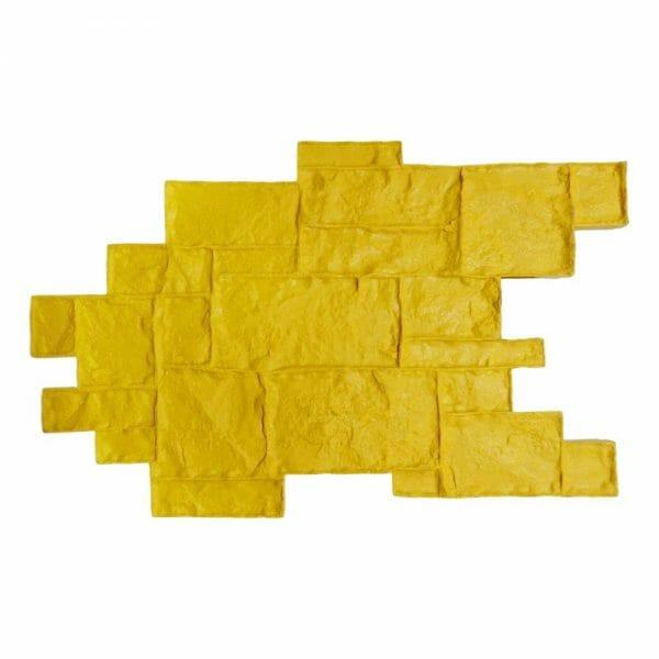 medievil-cobble-single-concrete-stamp-walttools-yellow