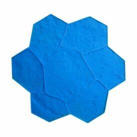 random-rock-single-concrete-stamp-walttools-light-blue