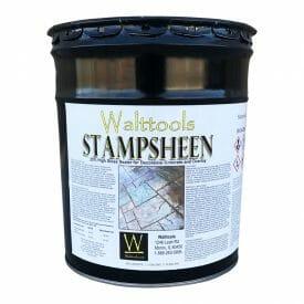 stampsheen high gloss concrete sealer walttools
