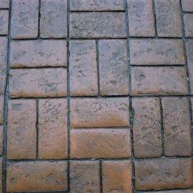Worn Brick Basketweave